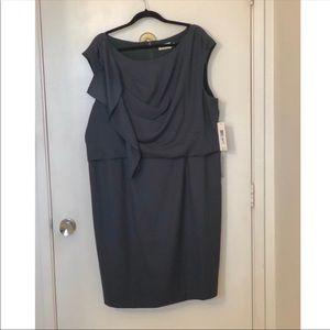 NWT Eliza J deep green dress size 20 w plus size